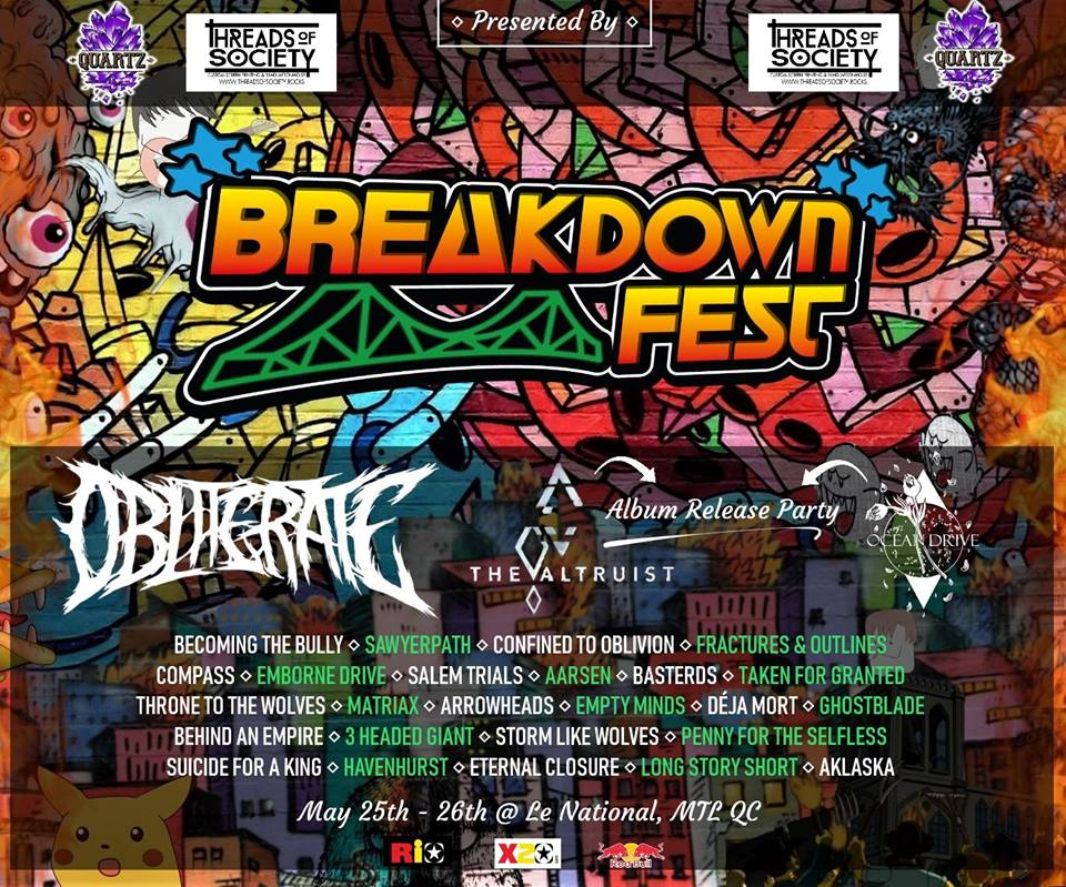Breakdown Fest - A festival featuring canadian artists and
